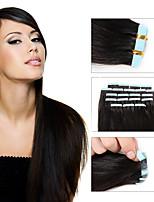 8a в remy выдвижениях человеческих волос оптовые утки кожи волос утка кожи малайзийские прямые двойные нарисовали уток кожи 20pcs / lot