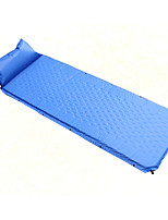 Portable Inflated Mat Blue Camping Traveling