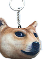 Key Chain Dog Key Chain Yellow Cotton