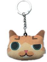 Key Chain Cat Key Chain Yellow
