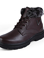 Men's Boots Fall / Winter Others Leather Casual Lace-up Black / Brown / Khaki Others