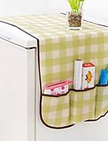 холодильник крышка таблица ткань хранения легкий в применении (случайные цвета)