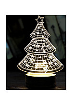 Christmas Tree-3D Night Light Led Lamps Usb Lights 3D Stereoscopic Lights