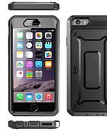 Pour Coque iPhone 6 Coques iPhone 6 Plus Antichoc Etanche à la Poussière Imperméable Coque Coque Intégrale Coque Couleur Pleine Dur