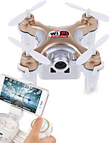 Cheerson CX-10WD Drone 6 Axis 4CH 2.4G RC QuadcopterLED Lighting / Auto-Takeoff / Failsafe / 360°Rolling / Access Real-Time Footage /