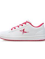 X-tep Sneakers Women's Wearproof Outdoor Low-Top Full-grain Leather Perforated EVA Basketball