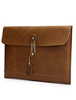 manches sac en cuir portable d'ordinateur portable rétro pour macbook air 13,3 ''