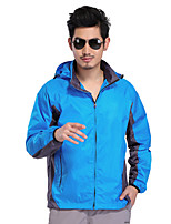 Hiking Softshell Jacket Men's Waterproof / Breathable / Quick Dry / Windproof / Wearable Spring / Summer / Fall/Autumn