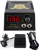 Solong tattooNew LCD Digital Tattoo Power Supply Foot Pedal  Clip Cord Kit P142-3