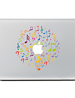 1 pièce Anti-Rayures Jeux Avec Logo Apple En Plastique Transparent Décalcomanie Motif PourMacBook Pro 15'' with Retina MacBook Pro 15 ''