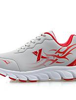 X-tep® Tênis Tênis de Corrida Homens Anti-Escorregar Anti-desgaste Ultra Leve (UL) Vestível Pele PVC Borracha Correr Esportes Relaxantes