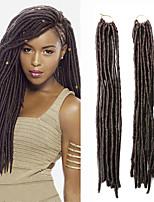 Faux Locs  MT1B/30 Synthetic Hair Crochet Braids 18inch 90g Kanekalon