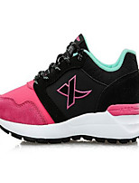 X-tep Sneakers Women's Anti-Slip Wearproof Breathable Outdoor Performance PVC Leather Rubber Running/Jogging Leisure Sports
