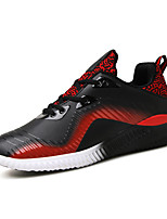 Men's Shoes Athletic Fabric Fashion Sneakers Black Red Grey Blue