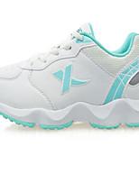 X-tep Sneaker Damen Rutschfest Polsterung Wasserdicht Luftdurchlässig im Freien Leistung PVC Leder Gummi Rennen Freizeit Sport