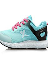 X tep® Baskets Femme Coussin Antiusure Respirable Cuir PVC Caoutchouc Course Sport de détente