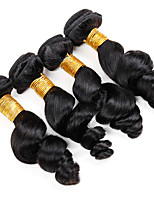 Natural Color Hair Weaves Burmese Texture Loose Wave 12 Months 4 Pieces hair weaves