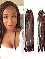 Crochet dreadlocks Extensions de cheveux Kanekalon Cheveux Tressée