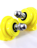 Rodents Chinchillas Exercise Wheels Plastic Yellow