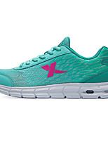 X-tep Sneakers Women's Wearproof Outdoor Low-Top Full-grain Leather Perforated EVA Running/Jogging