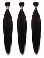 Cabelo Humano Ondulado Cabelo Indiano Yaki 12 meses 1 Peça tece cabelo