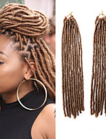 Faux Locs  Blonde Color 27 Synthetic Hair Braids 18inch 90g Kanekalon