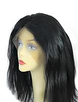 최고 품질의 처리되지 않은 브라질 처녀 머리 8-24 전체 레이스 가발 내구성 스위스 레이스 조절 탄성 스트랩 자연스러운 헤어 라인 부드럽고 매끄러운