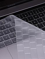 beiyo protetor de teclado (TPU) para macbook air13pro 13 15macbook 12 ultrafino transparência à prova de poeira à prova de água