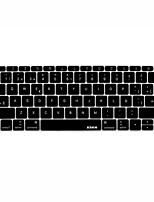 XSKN Língua Espanhola pele teclado de silicone para 2016 lançado non-touch versão bar novo MacBook Pro de 13,3 nós de layout