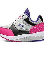 X-tep Sneaker Damen Rutschfest Wasserdicht Luftdurchlässig Extraleicht(UL) im Freien Leistung PVC Leder Gummi Rennen Freizeit Sport