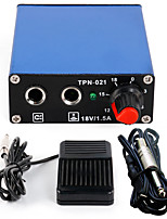 Solong tattoo New LCD Digital Tattoo Power Supply Foot Pedal  Clip Cord Kit P163-3