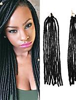 Sénégal dreadlocks Extensions de cheveux Kanekalon Cheveux Tressée