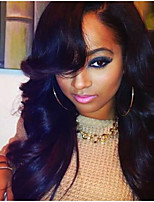 Lace Front Wig Brazilian Virgin Human Hair Body Wave Wig For African American Women