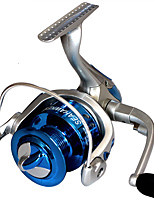Moulinet pour pêche Moulinet spinnerbaits 2.6:1 8.0 Roulements à billes Echangeable Pêche générale-LF4000