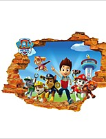 3D Wall Stickers Wall Decals Style Cartoon PVC Wall Stickers