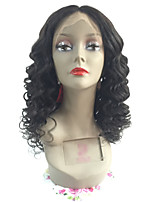 Hot Sale Wavy Lace Front Wig With Baby Hair For Black Women Lace Front Wig Brazilian Virgin Human Hair Lace Front Wigs