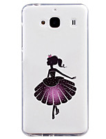 For xiaomi red rice 2 case hongmi redmi 2 Design of coloured drawing or pattern Tpu material of back cover Free shipping