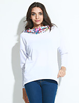 Women's Going out Casual Street chic Hoodies Print Hooded Long Sleeve