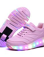 Kid Boy Girl Roller Shoes / Ultra-light Single Wheel Skating LED Light Shoes / Athletic / Casual LED Shoes