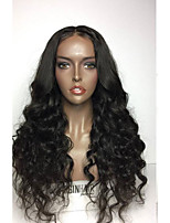 Brazilian Glueless Lace Front For Black Women 8A Grade Virgin Body Wave Lace Front Human Hair Wig