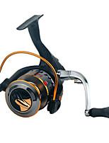 Катушки для спиннинга Спиннинговые катушки 2.6:1 16.0 Шариковые подшипники Заменяемый Обычная рыбалка-XF3000