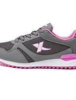 X-tep Sneakers Women's Wearproof Outdoor Low-Top Nubuck leather Perforated EVA Running/Jogging