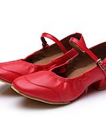 Customizable Women's Dance Shoes Satin Satin Latin Sandals Flared Heel Practice Beginner Professional Indoor Outdoor Performance Gold