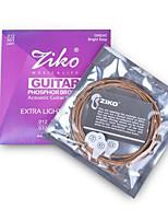 ZIKO 012 Acoustic Guitar Strings Set Phosphor Bronze Wound Steel String