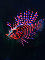 Aquarium Decoration Artificial Lion Fish Resin Random Color