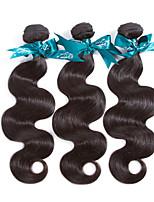 Человека ткет Волосы Перуанские волосы Естественные кудри 12 месяцев 3 предмета волосы ткет