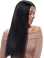 Hot sale Natural Remy Straight Human Virgin Hair Lace Front Wig For Black Women