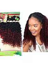 Bouclé Tresses bouclés Extensions de cheveux Cheveux Tressée