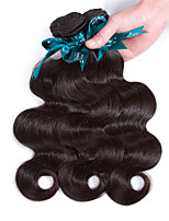 Natural Color Hair Weaves Malaysian Texture Body Wave 12 Months 3 Pieces hair weaves