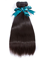 Natural Color Hair Weaves Indian Texture Straight 12 Months 3 Pieces hair weaves